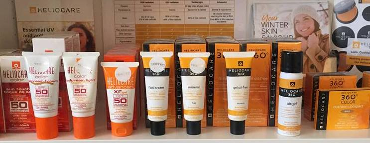Heliocare Range of Products
